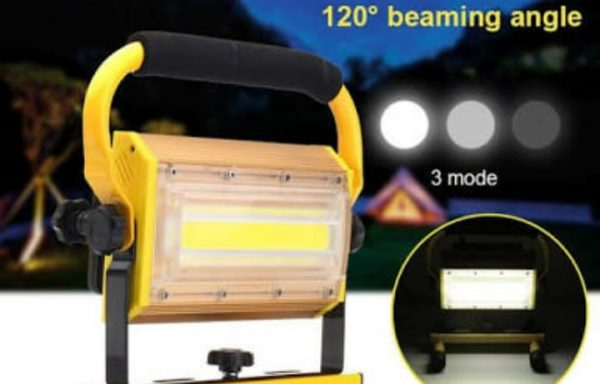 LED Flood Light For Work and Camping